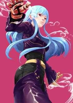 Kula is the best Game Mario Bros, Kula Diamond, Snk Games, Snk King Of Fighters, Mobile Legends, Video Game Art, Street Fighter, Resident Evil, Female Characters