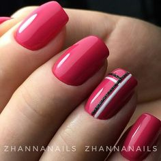 WEBSTA @best_manikurchik @best_manikurchik Не забывайте ставить лайк ❤ и подписаться на ➡ @best_manikurchik 💋 Здесь собраны самые лучшие идеи 💕💕💕 @best_manikurchik 👉 самые модные дизайны @best_manikurchik 👉 работы лучших мастеров Фото @zhannanails Fancy Nails, Pink Nails, Cute Nails, Pretty Nail Art, Luxury Nails, Gel Nail Designs, Square Nails, Nagel Gel, Stylish Nails