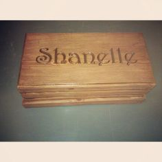 Box made in wood tech