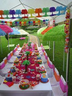 dicas de Como Decorar uma Festa Havaiana