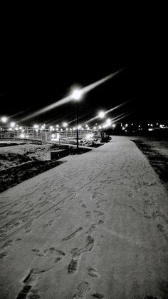 #parkpapieski #Rzeszow #snow