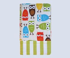 Custom eReader Cover Owls Striped Border. $29.00, via Etsy. This shop can make covers for any eReader.