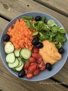Tasting Good Naturally : Houmous au Poivron Rouge #Vegan