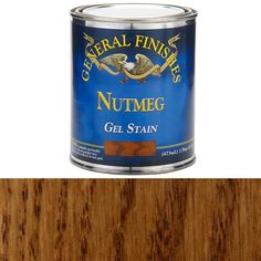 Buy General Finishes, Nutmeg Gel Stain, Pint at Woodcraft.com