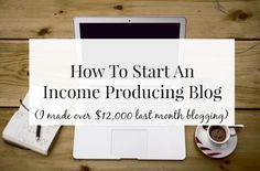 How To Start A Blog - Tips for a Beginner