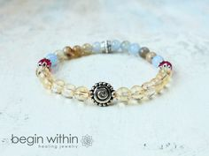 """""""Amazing work! Love it - Thanks!"""" Reviewed on #etsy   Law of Attraction Bracelet - Vortex, Sacred Spiral by Begin Within   #spiritual #loa #jewelry"""