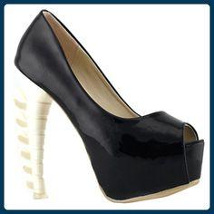 Show Story schwarz classic Elegance vereinfachende Heels damen pumpen,LF40606BK40,40,schwarz - Damen pumps (*Partner-Link)