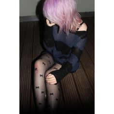 Pastel Goth Grunge Street Fashion ❤ liked on Polyvore