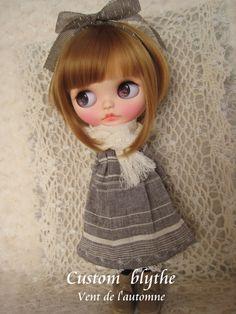 *カスタムブライス*Custom Blythe*Vent de l'automne_画像3