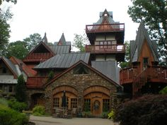 Landoll's Mohican Castle in Loudonville, OH.