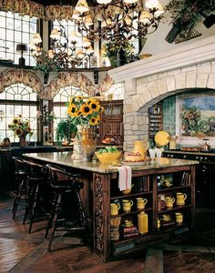 Tuscan design – Mediterranean Home Decor House Design, Beautiful Kitchens, French Decor, Home, Kitchen Design, Mediterranean Decor, Tuscan House, Home Decor, Country Kitchen