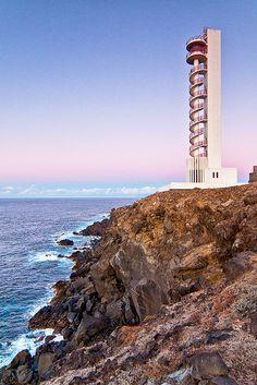 Faro de Buenavista del NorteTenerife islas Canarias España28.391012, -16.836217   by A.Glaeser, via Flickr