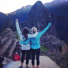 #tbt to hiking Machu Picchu at sunrise one year ago today! #doyoutravel #peru #wanderingsupertramps
