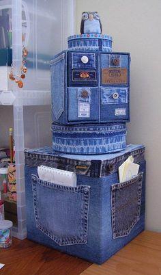 Утилизация джинсов - Ярмарка Мастеров - ручная работа, handmade