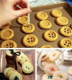 Diy cookie buttons