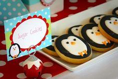 Penguin cookies!!!!