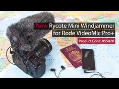Rycote | Introducing the Mini Windjammer for Røde VideoMic Pro+