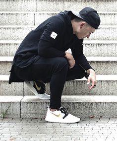 oversized shirt, black fashion and urban street wear