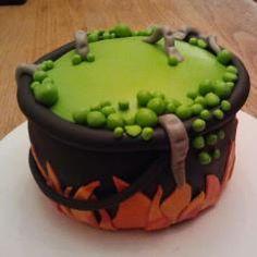 Enge heksenketel. Stem op deze taart bij jamin.nl!!