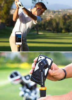Rokform Rokbed Golf Shooter - analyze your golf swing using your iPhone.
