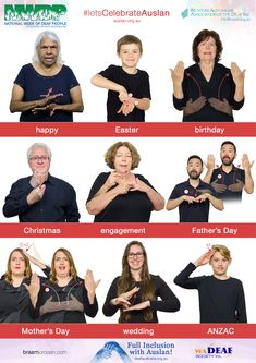 NWDP is an annual celebratory event in the Deaf Community, celebrating Auslan and the culture of Deaf people.