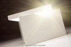 Stockafe: white box with something bright by Andy Dean