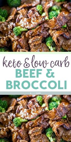 Best Keto Beef and Broccoli Stir Fry Recipe!  This recipe comes together fast and is so easy to cook, it does not take long to marinate and the marinade is delish!  Paleo, whole 30, gluten free, clean eating recipe. www.noshtastic.com