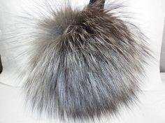 Silver Fox Fur Earmuffs new made in usa by furz11 on Etsy