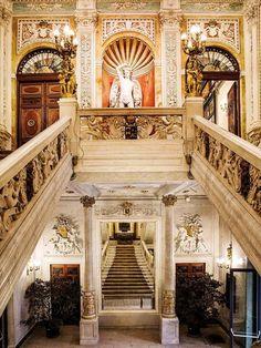Un palacio en pleno centro de Madrid