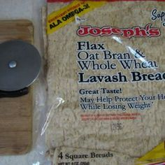 How to make Lavash Bread Chips~ Looking for a healthier chip than the greasy and fatty store-bought chips? Here is an easy and healthier chip option using Joseph's Lavash Bread and making them in different flavors. Joseph's Pita Bread, Lavash Bread Recipe, Low Carb Pita Bread, Low Carb Tortillas, Keto Bread, Low Calorie Snacks, Keto Snacks, Healthy Snacks, Breads