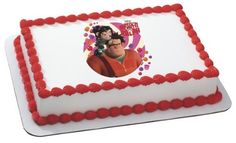 Wreck It Ralph Edible Cake Topper Decoration