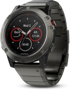 The Garmin fenix Sapphire Edition in slate gray with a black band and a sapphire scratch-resistant lens. Designed with multi-sport athletes in mind. Garmin Fenix Multisport GPS Watch with Full-Color Map Guidance Sport Watches, Watches For Men, Gps Watches, Popular Watches, Casual Watches, Wrist Watches, Gps Sports Watch, Fitness Watch, Heart Rate Monitor