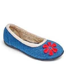 Padders Happy Ballerina Slipper E Fit Add these Ballerina slippers from Padders to your loungewear collection. Combining a colourful upper with super soft linings. Complete with a memory foam filled sock on a versatile moulded outsole. Pa http://www.MightGet.com/january-2017-13/padders-happy-ballerina-slipper-e-fit.asp