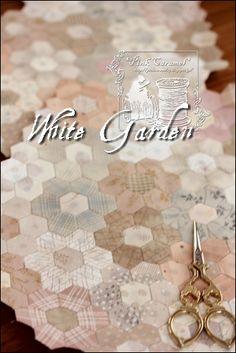 Pink Caramel: White Garden 3