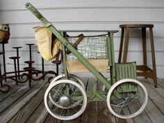 1970s Tuk-A-Way Stroller Made By Columbia Bicycle Co.