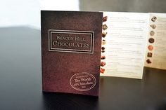 Beacon Hill Chocolates Assortment Brochure