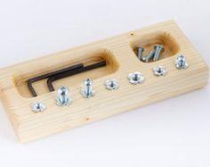 Verkauf Montessori Schraube board von LindenMood auf Etsy
