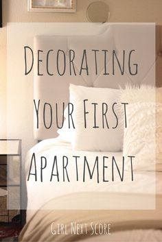 Decorating your first apartment