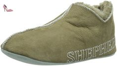 Shepherd Lennart Slipper, Chaussons Doublé Chaud Homme - Beige (stone 25), 41 EU - Chaussures shepherd (*Partner-Link)