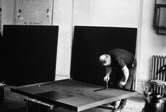 AD REINHARDT - black paintings #art #painting #reinhardt