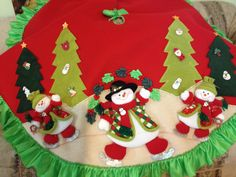 Tree Skirts, Christmas Time, Santa, Holiday Decor, Crafts, Mary, Pastel, Chair, Christmas Pillow