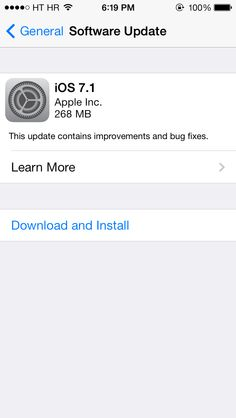 Apple Released iOS 7.1 Download for iPhone / iPad (Download iOS 7.1)