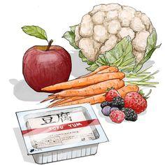 Стоит ебут здоровой едой