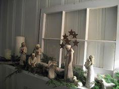 Willow Tree Nativity set display