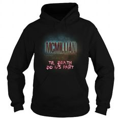 I Love MCMILLIAN-the-awesome T shirts