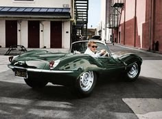 If the only car Steve McQueen ever drove in his day was a 1956 Jaguar XKSS he'd still be one of the coolest car guys around. But what new cars would he drive if McQueen were alive today? Steeve Mcqueen, Vintage Cars, Antique Cars, Vintage Photos, Automobile, Convertible, Black Jaguar, Jaguar Type, Jaguar Cars