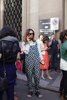 They Are Wearing: Milan Fashion Week