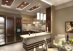 Современный дизайн кухни, дизайн кухни в стиле Модерн | ТЕХНОГРАФ