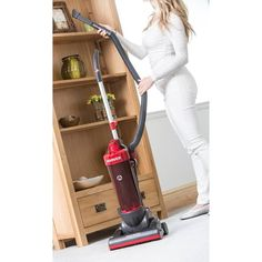 Homesavers | Hoover Whirlwind Upright Vacuum Cleaner Cheap Vacuum, Upright Vacuum Cleaner, Hoover Vacuum, Nook And Cranny, Hard Floor, Red And Grey, Vacuums, Kids Fashion, Home Appliances