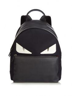 d9886f958a Bag Bugs nylon and leather backpack | Fendi | MATCHESFASHION.COM UK  #CollectorsOnly Fendi